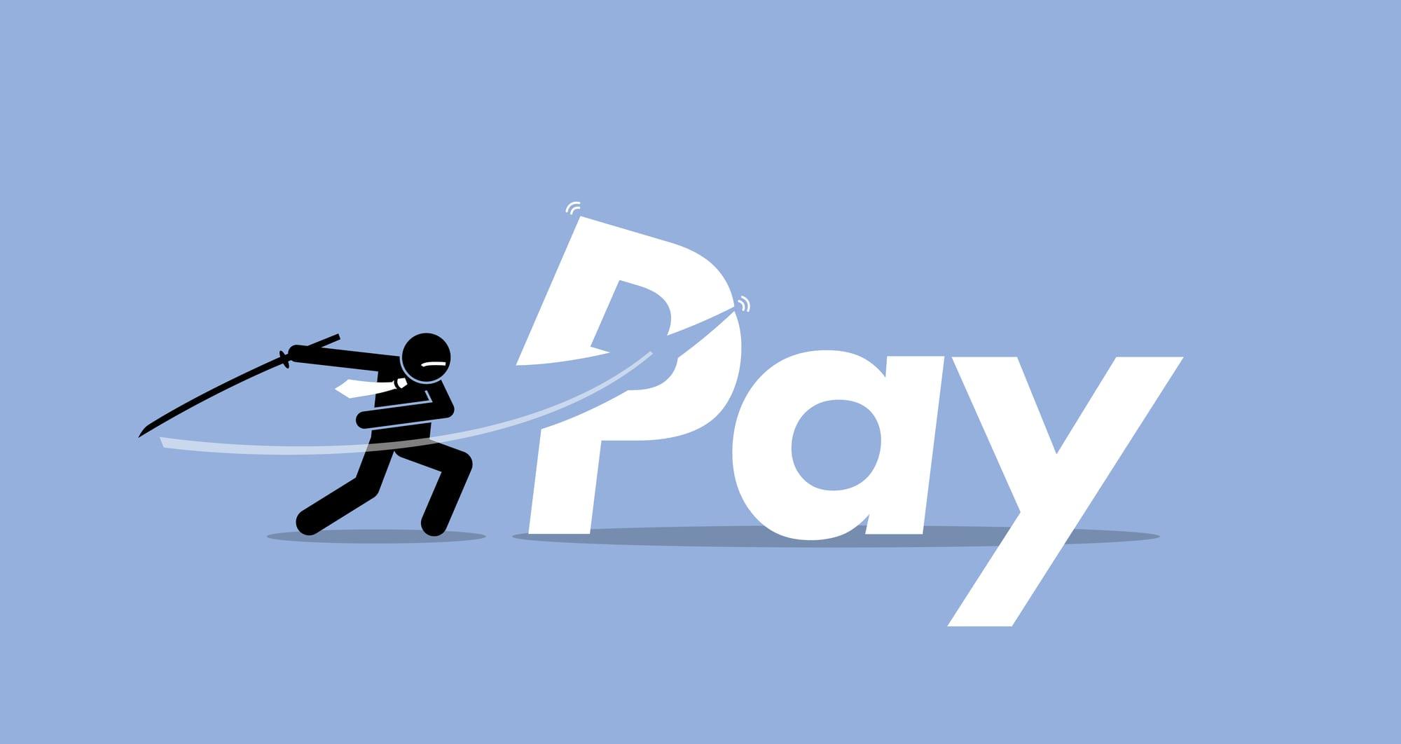 Slashing employee pay